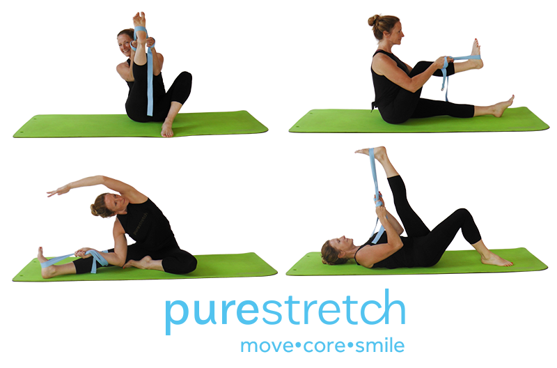 purestretch with strap and routine
