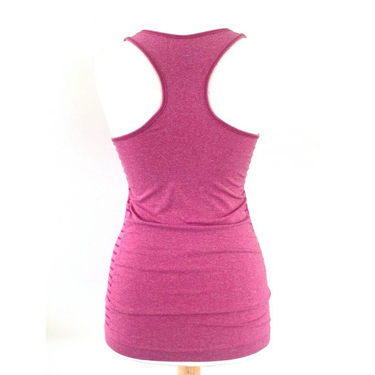 purelime vest top pink back