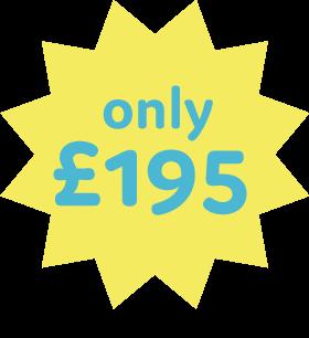 £195 Badge
